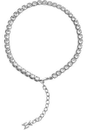 Amina Muaddi Women Body Jewelry - Crystal-embellished anklet