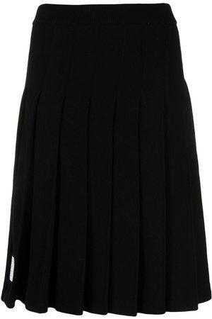 Thom Browne Women Midi Skirts - Pleated knee-length skirt