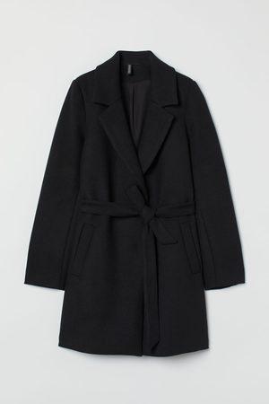 H&M Tie Belt Coat