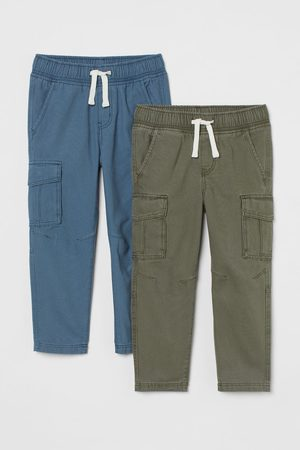 H & M Kids Tracksuits - 2-pack Relaxed Fit Joggers