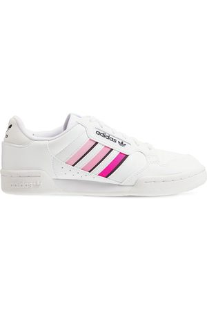 ADIDAS ORIGINALS Continental 80 Coated Leather Sneakers