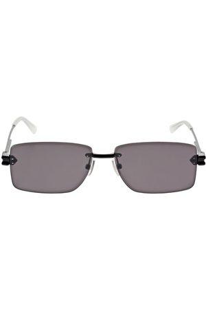 BOTTEGA VENETA Men Sunglasses - Squared Metal Sunglasses