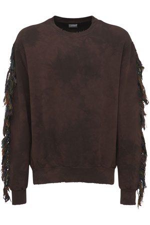 ALCHEMIST Fringe Cotton Sweatshirt