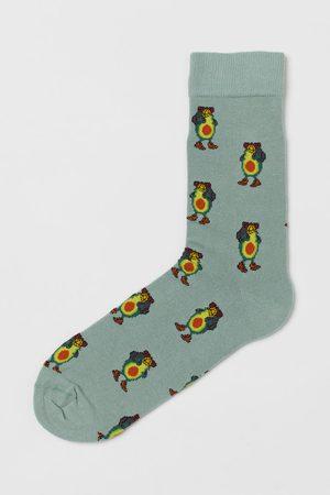 H&M Men Socks - Patterned Socks