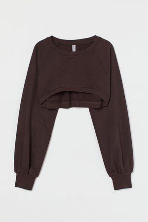 H&M Crop Sweatshirt