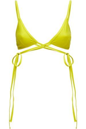 CHRISTOPHER ESBER Stretch Triangle Bikini Top