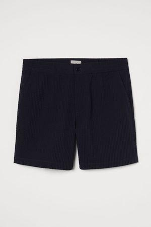 H&M Men Shorts - Seersucker Shorts