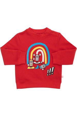 STELLA MCCARTNEY KIDS Printed Organic Cotton Sweatshirt