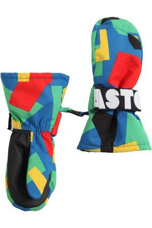 STELLA MCCARTNEY KIDS Printed Recycled Nylon Ski Gloves