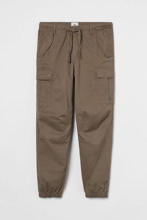 H&M Men Cargo Pants - Regular Fit Cargo Pants
