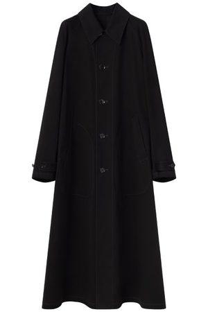 Lemaire Raglan-sleeve Gabardine Raincoat - Womens