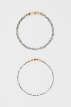 H&M Men Bracelets - 2-pack Bracelets