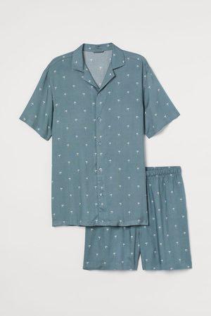 H&M Men Pajamas - Pajama Shirt and Shorts
