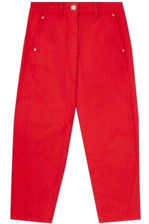 Lemaire High-rise Garment-dyed Cropped Jeans - Womens