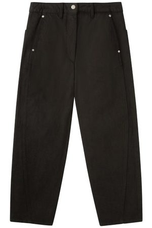 LEMAIRE Twisted-seam Cropped Wide-leg Jeans - Womens