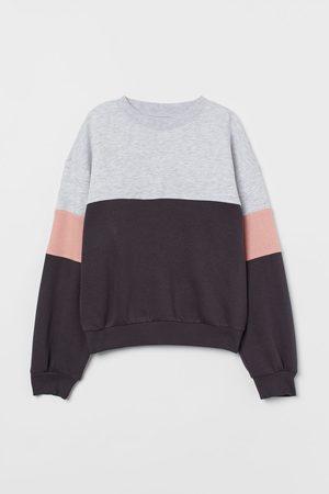 H & M Kids Sweatshirts - Color-block Sweatshirt