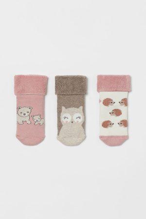 H & M Socks - 3-pack Terry Socks