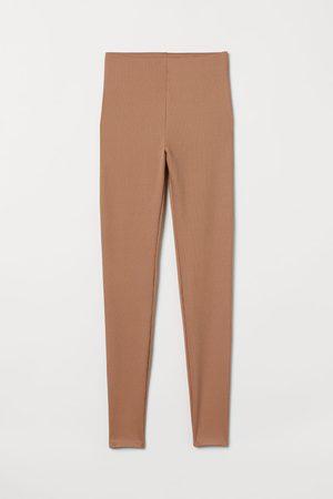 H & M Women Sweats - Ribbed Leggings
