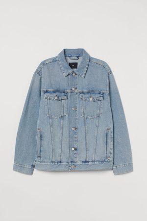 H & M Oversized Denim Jacket
