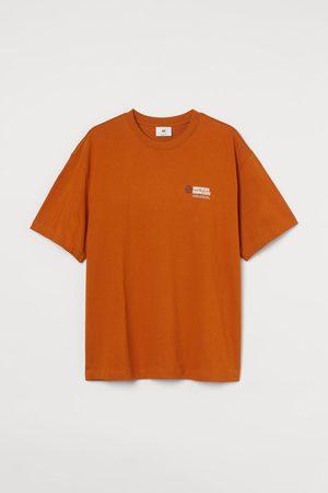 H & M Men T-shirts - Heavy Cotton Jersey T-shirt