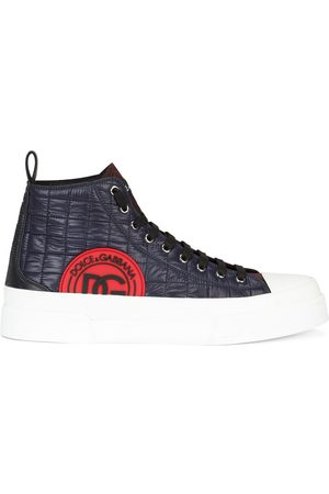 Dolce & Gabbana Quilted high-top sneakers