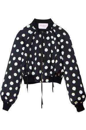 Carolina Herrera Polka dot bomber jacket