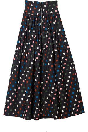 Carolina Herrera Women Maxi Skirts - Polka-dot maxi skirt