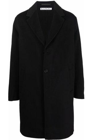 Acne Studios Men Blazers - Notched-lapels single-breasted coat