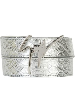 Giuseppe Zanotti Men Belts - Signature buckle belt