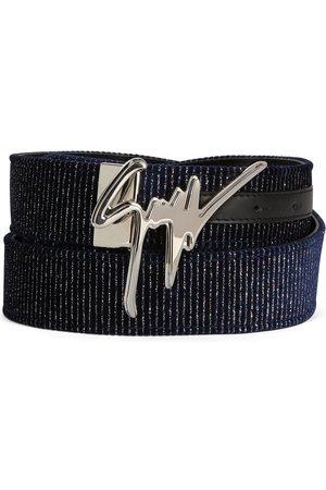 Giuseppe Zanotti Men Belts - Giuseppe logo-buckle belt