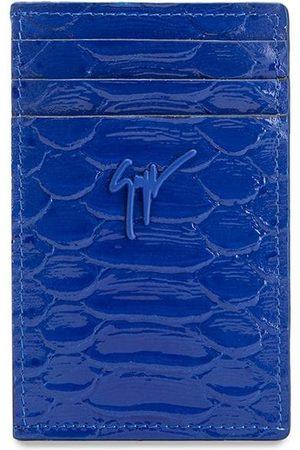 Giuseppe Zanotti Men Wallets - Albert python-effect cardholder