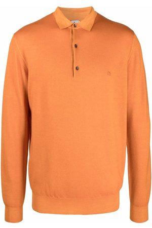 Etro Long-sleeved wool polo shirt