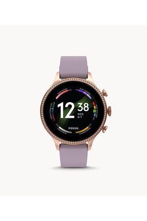 Smartwatches Fossil Women's Gen 6 Smartwatch Silicone