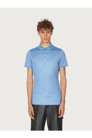 Salvatore Ferragamo Men Short sleeved polo shirt