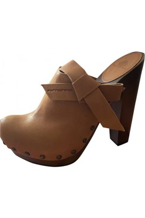 FORNARINA Leather mules & clogs