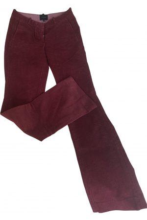 Birgitte Herskind Women Straight Leg Pants - Velvet straight pants