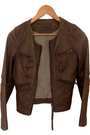 Kookai Leather short vest