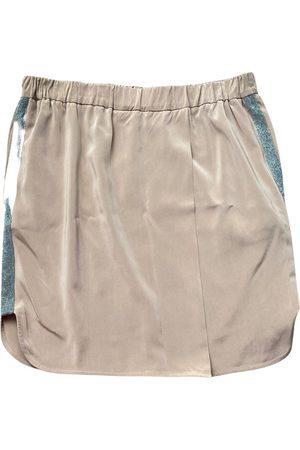 Brunello Cucinelli Silk mini skirt