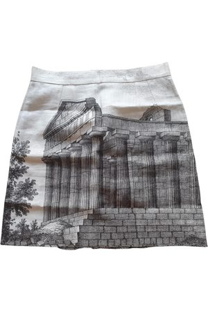 Dolce & Gabbana Linen mini skirt
