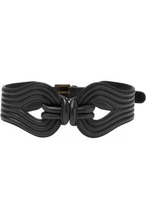 LARA Patent leather belt
