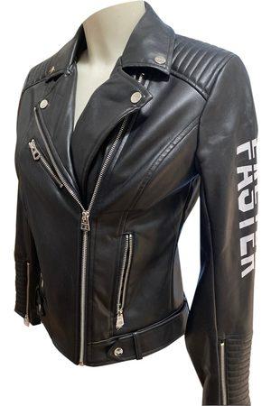 Terranova Women Leather Jackets - Vegan leather biker jacket