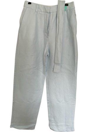 Maje Linen straight pants