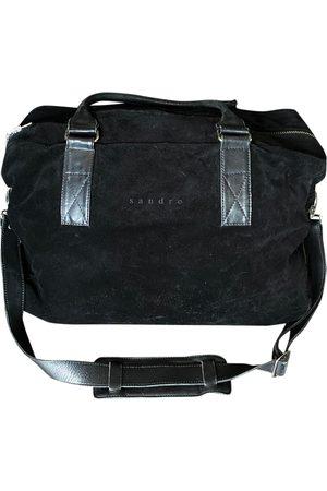 Sandro Leather weekend bag