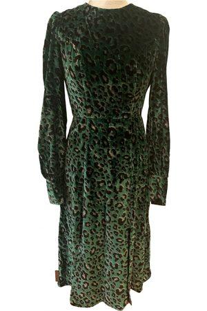 KITRI Velvet mid-length dress