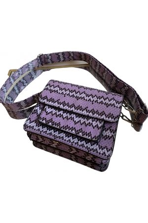 Hvisk Cayman Snake Pocket vegan leather handbag