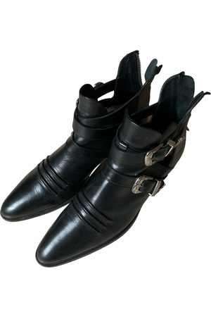 The Kooples Leather western boots