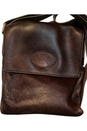 The Bridge Leather weekend bag