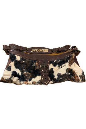 Roberto Cavalli Pony-style calfskin handbag