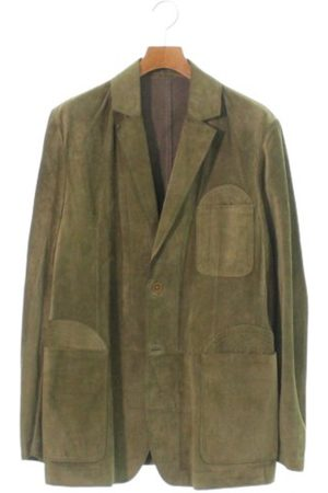 Bottega Veneta Men Gilets - Leather vest