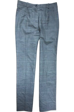 Céline Wool straight pants